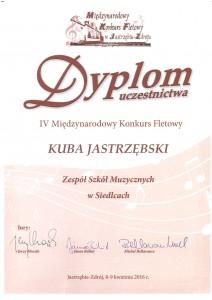 IV Międzynarodowy Konkurs Fletowy w Jastrzębiu Zdroju