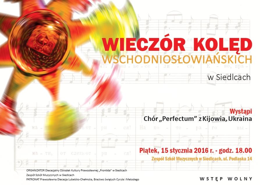 koncert kolęd wschodniosłowiańskich